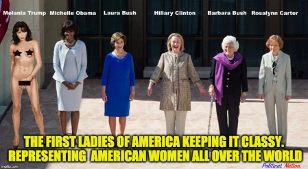 first ladies of America